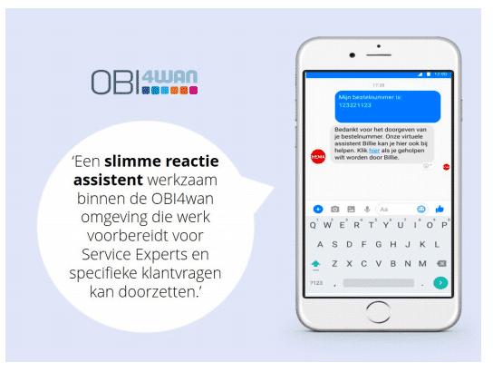 Chatbot een slimme reactie assistent