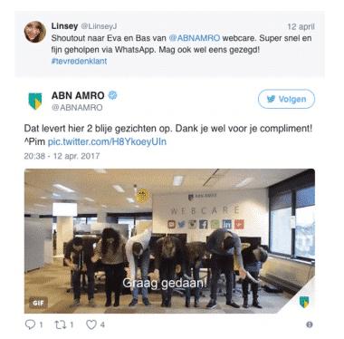 ABN AMRO Twitter