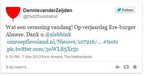 Tweet-Dennis-van-der-Heide-OBI4wan-webcare-social-media
