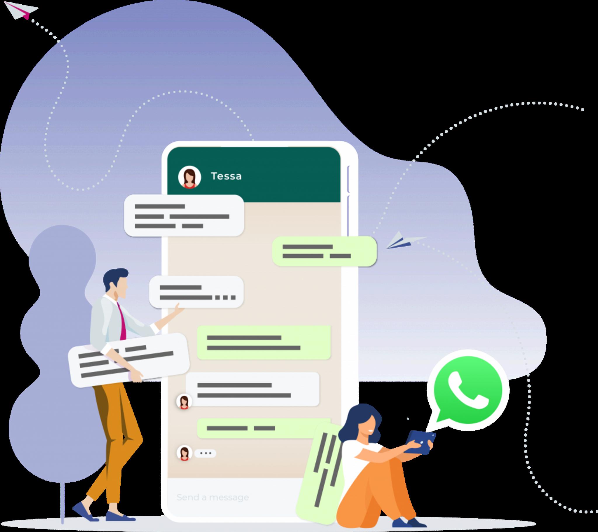 whatsapp business solution